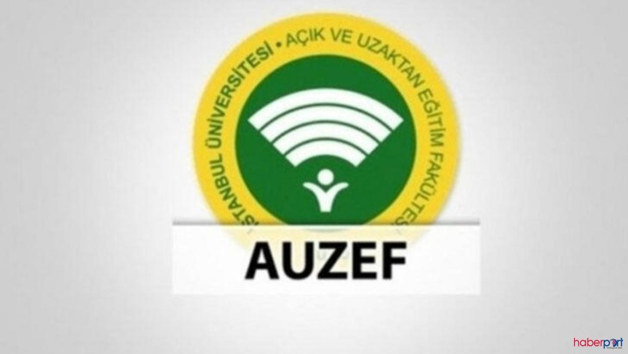 2021 AUZEF sınav giriş ekranı, AUZEF online sınav girişi