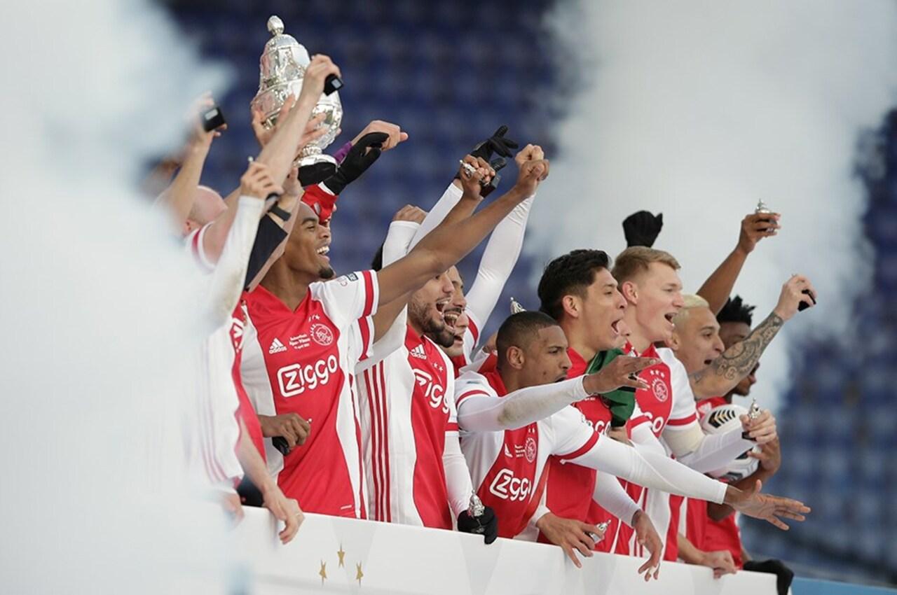 Ajax, Hollanda Kupası'nı 20.kez kazandı