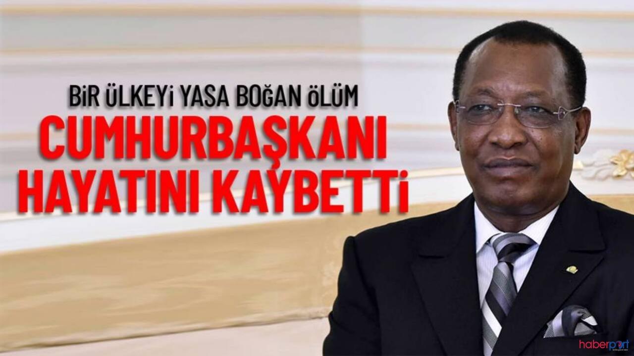 Çad'da 1 gün önce Cumhurbaşkanı seçilen İdriss Deby cephede çatıştığı sırada öldürüldü!