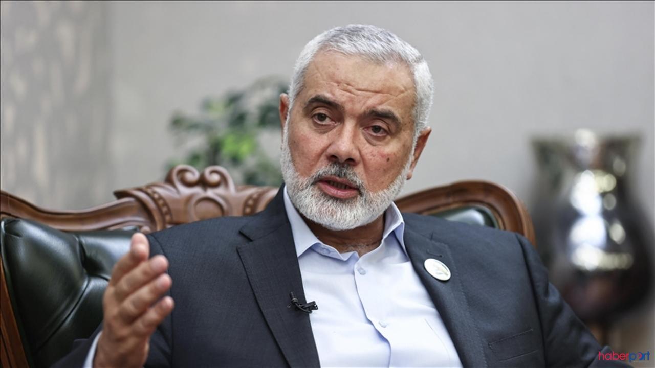 Hamas lideri Heniyye, Kudüs'ün İsrail işgaline boyun eğmeyeceğini söyledi