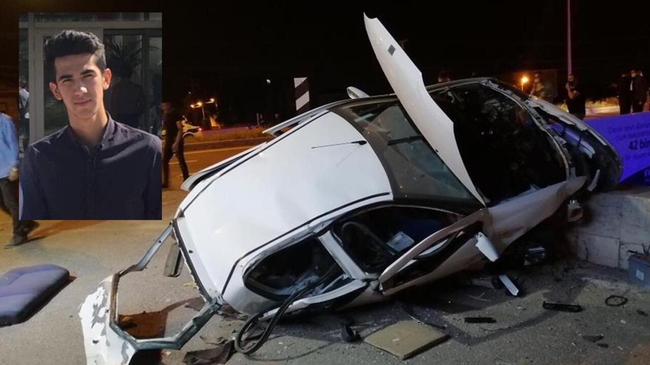 Aksaray'da akıl almaz kaza! Araçtan fırlayan sürücü alt geçide düşerek hayatını kaybetti