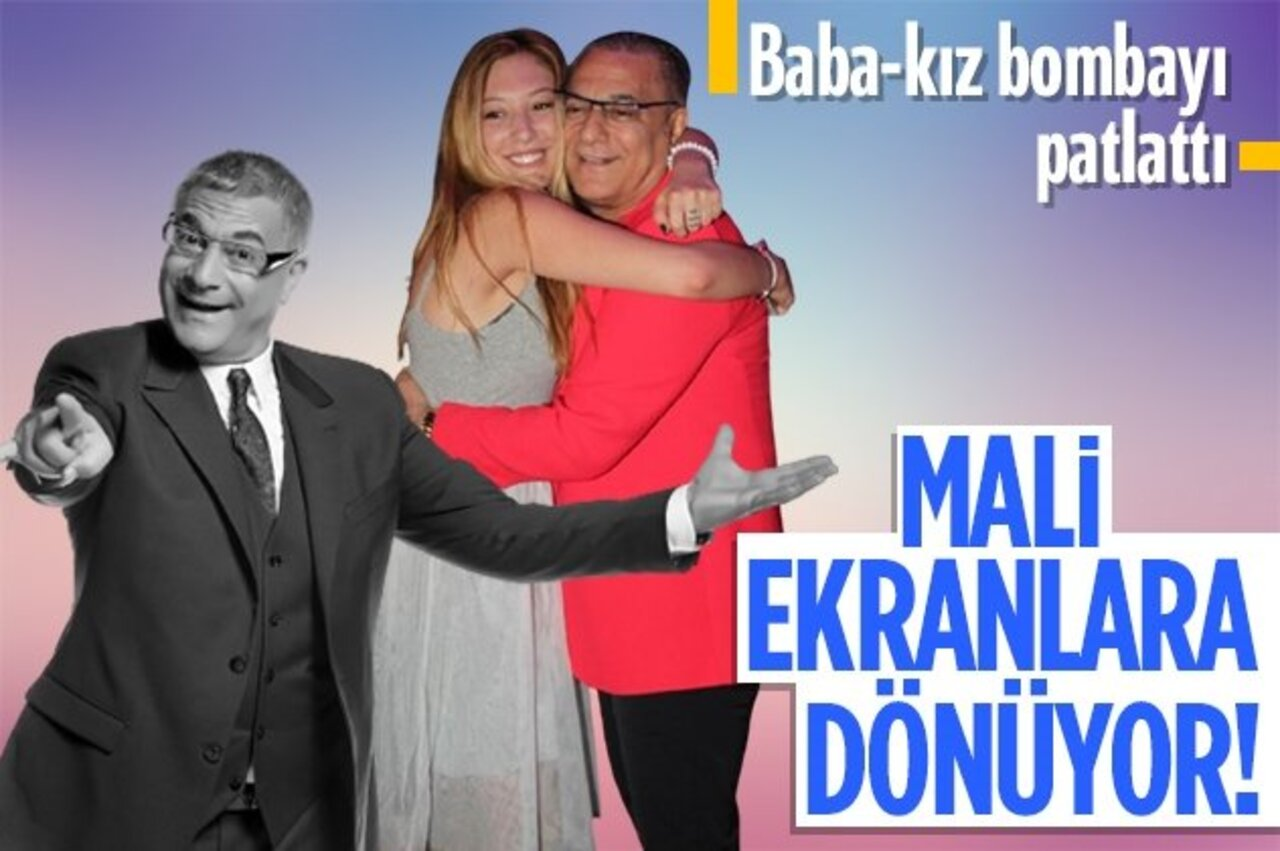 Ekranlara dönmeye hazırlanan Mehmet Ali Erbil'in partneri kızı Yasmin Erbil olacak!