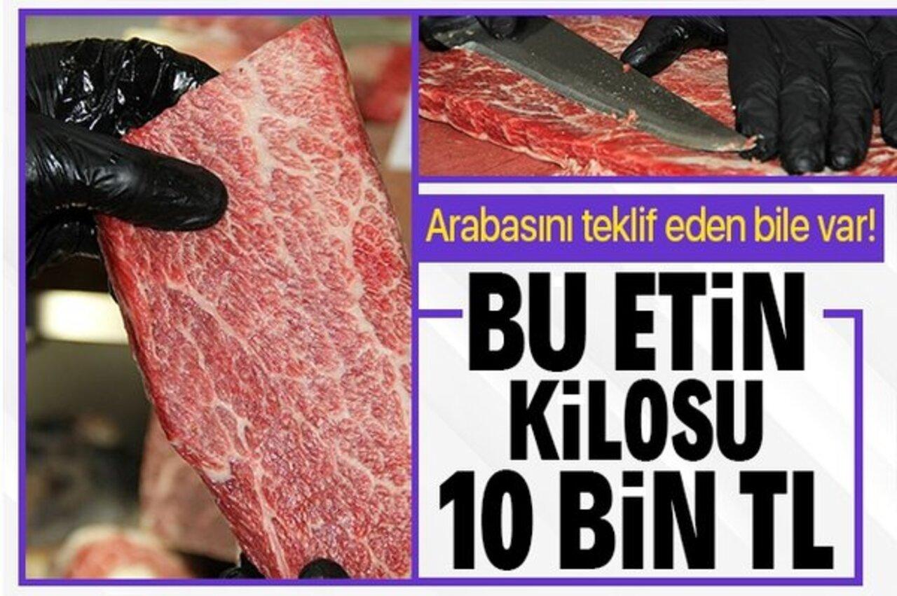 Kilosu 10 bin liraya sığır eti! Kasap taleplere yetişemiyor..