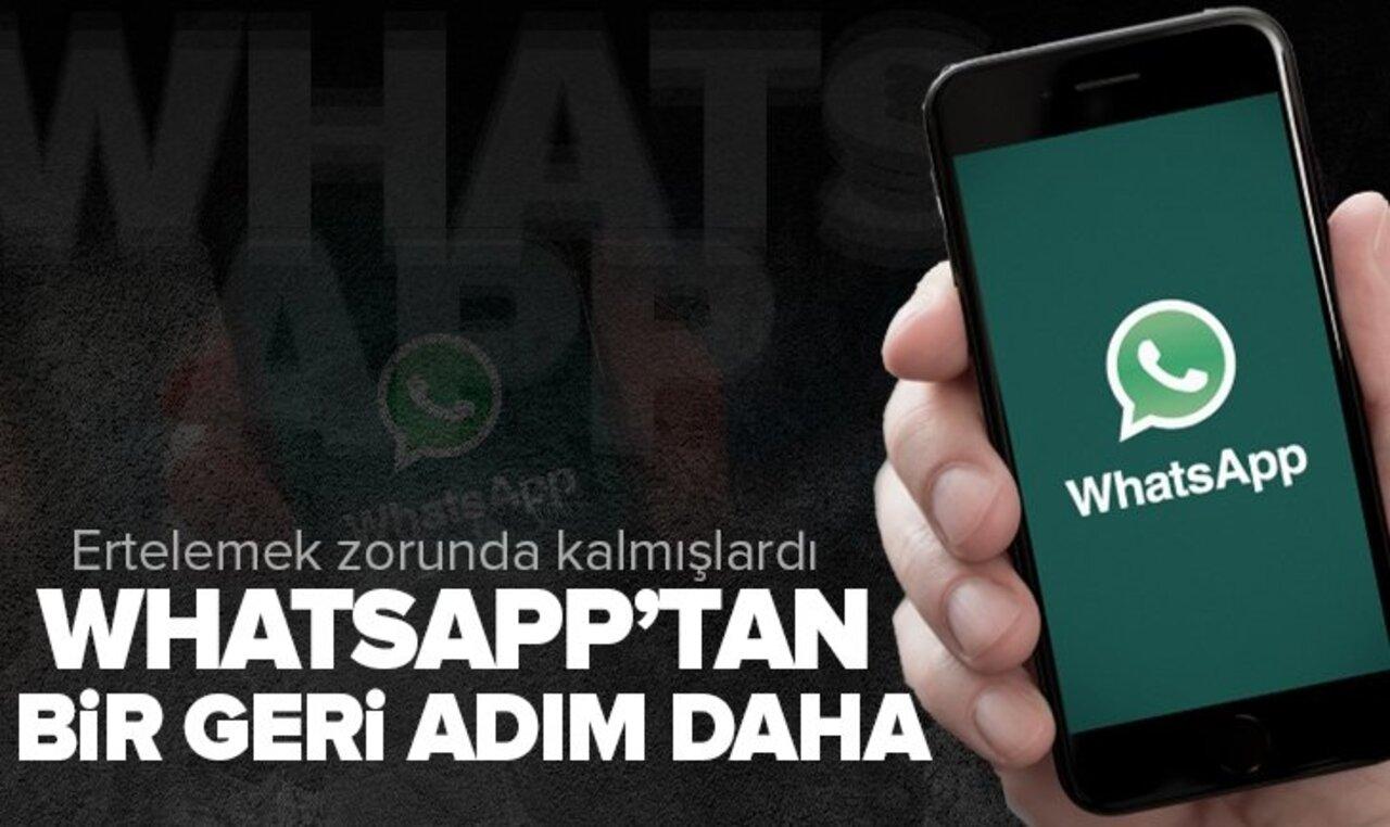 WhatsApp'tan kullanıcılara gizlilik sözleşmesi mesajı!
