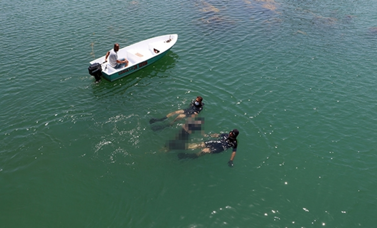 Adana Seyhan Nehri'nde erkek cesedi bulundu