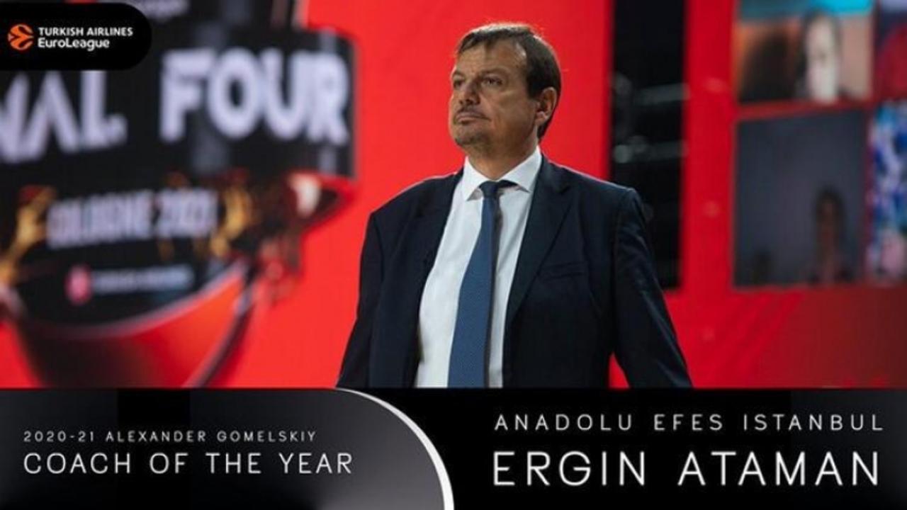 Avrupa'da yılın koçu Ergin Ataman