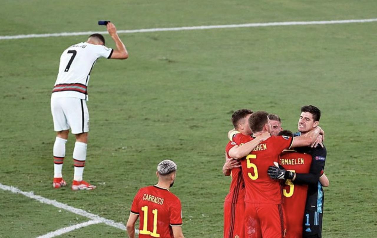 Belçika, Portekiz'i eleyerek çeyrek finale yükseldi