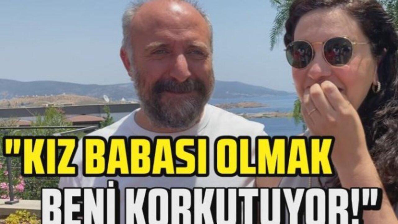 Bergüzar Korel, eşi Halit Ergenç'in kız babası olmaktan korktuğunu söyledi
