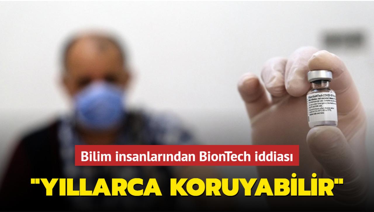 BioNTech aşısının yollarca koruma sağladığı öne sürüldü!