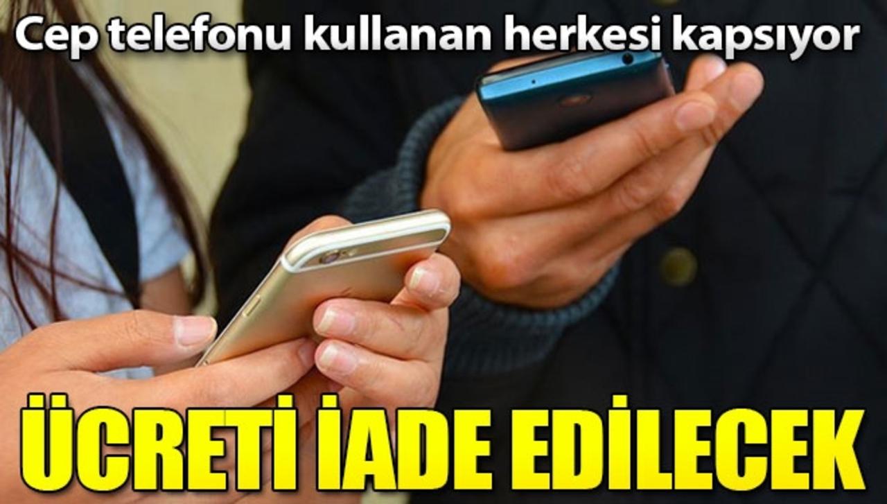 Bozulan cep telefonlarının ücretini geri almak artık mümkün!