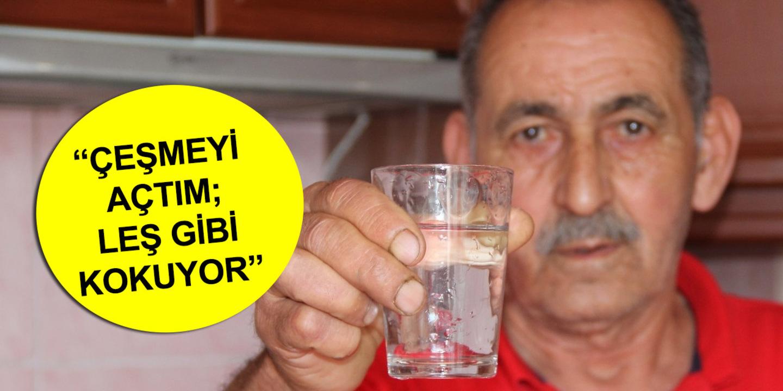 Buca ve Gaziemir'de şebeke suyu binlerce insanı hastaneye götürdü!