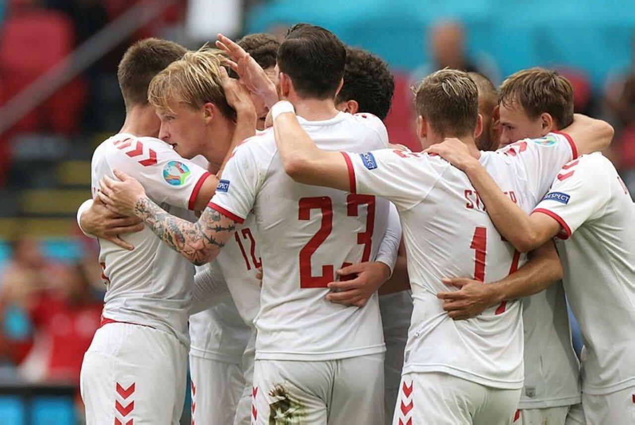 Çeyrek finale yükselen ilk takım Danimarka