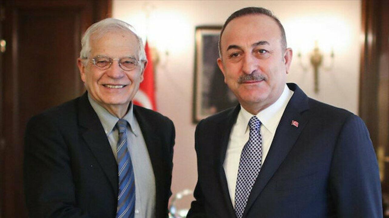 Dışişleri Bakanı Çavuşoğlu ve Josep Borrel Antalya'da bir araya gelecek