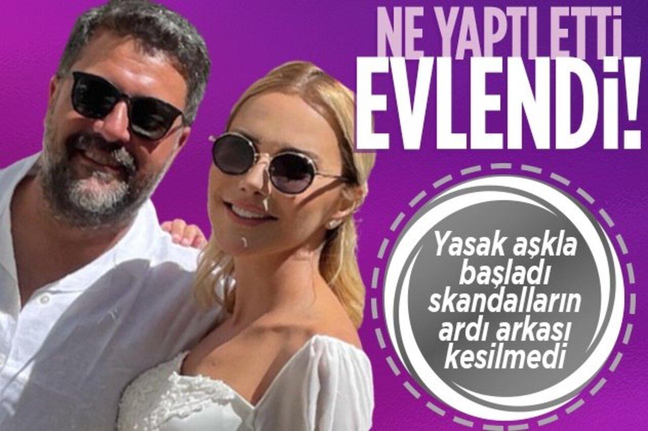 Ece Erken ile Şafak Mahmutyazıcıoğlu, sonunda nikah masasına oturdu!