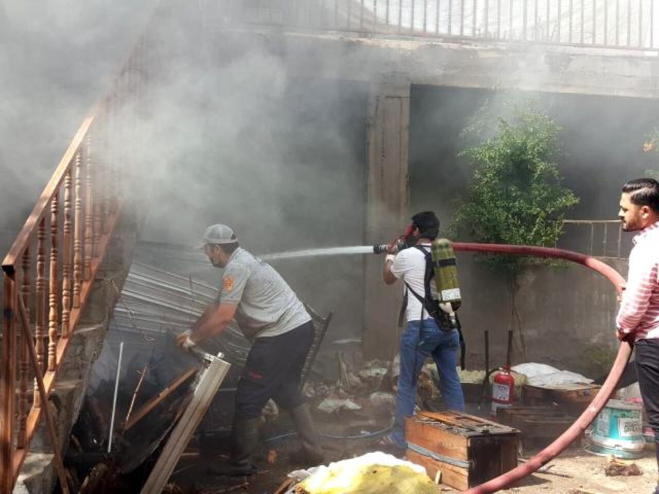 Elazığ'da yangın!