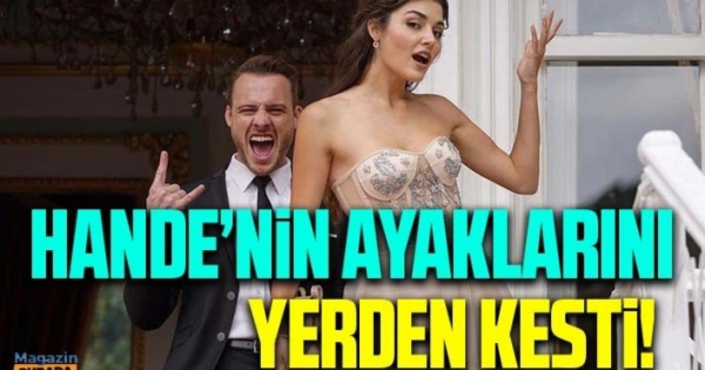 Hande Erçel ile Kerem Bürsin'den dillere destan aşk pozu!