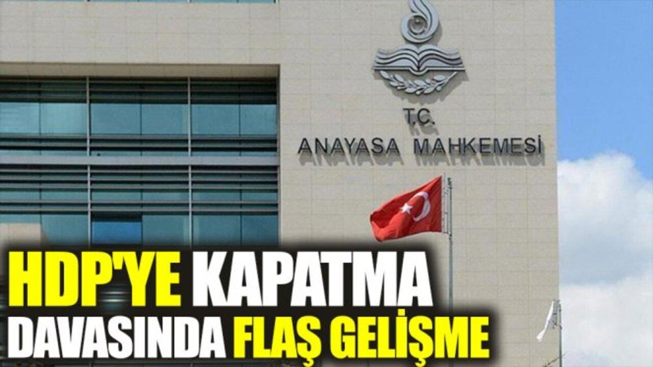 HDP'ye açılan kapatma davasının kabulü talep edildi!