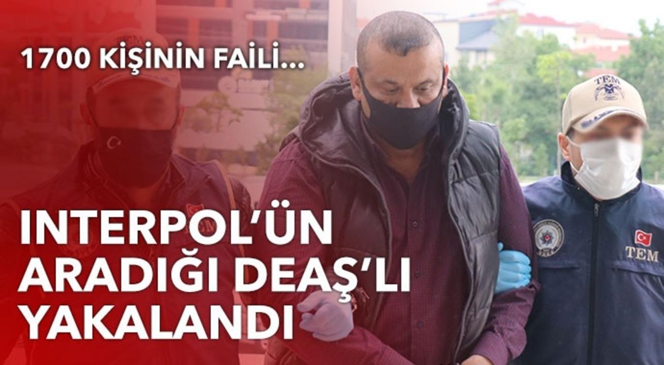 Interpol tarafından aranan DEAŞ'lı terörist Türkiye'de yakalandı!