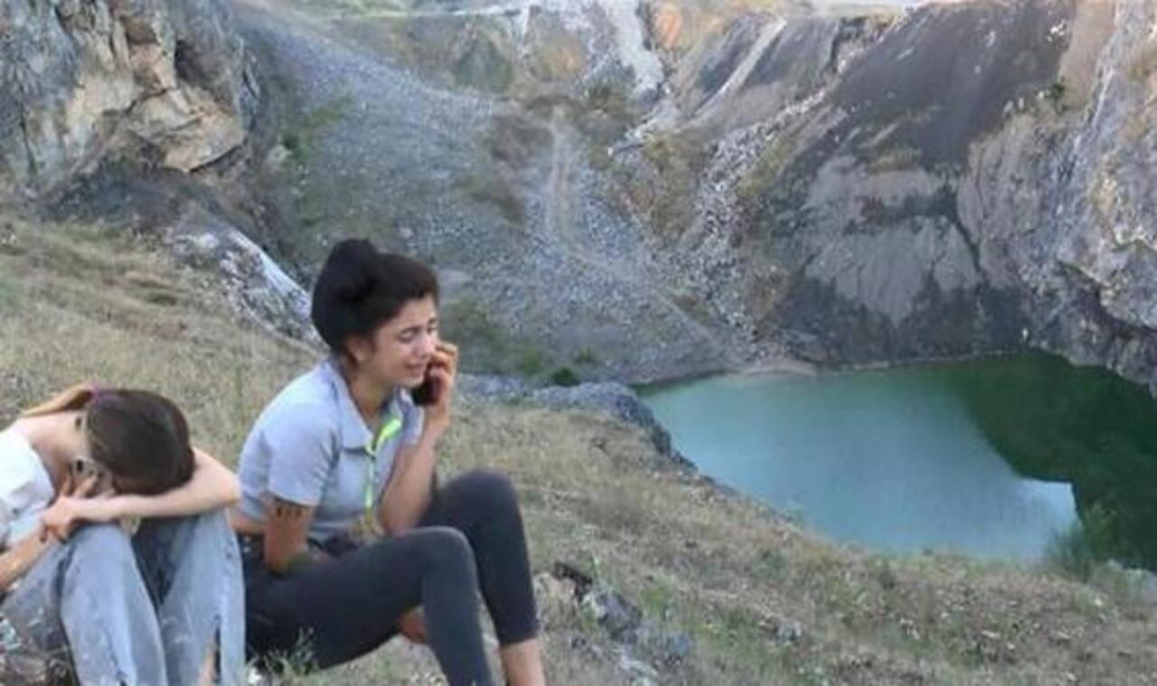 İstanbul'da  uçurumdan düşen genç kız yaşamını yitirdi
