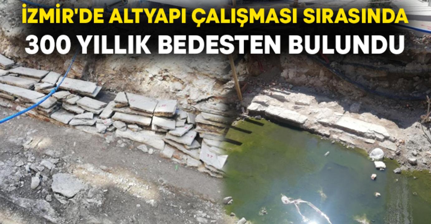 İzmir'de 300 yıllık bir bedesten bulundu