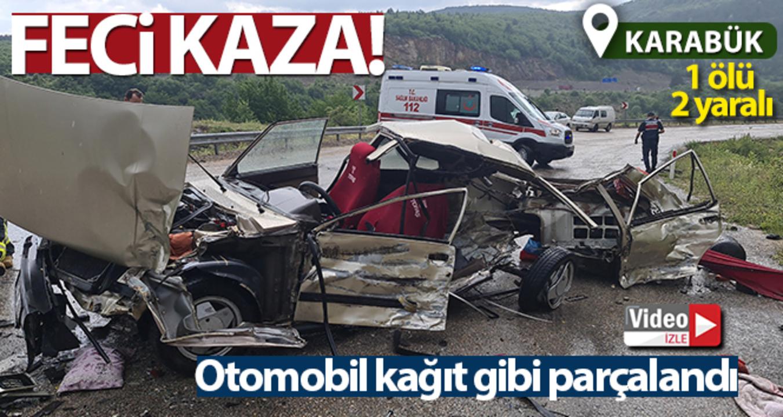Karabük'te piknik dönüşü feci bir kaza meydana geldi