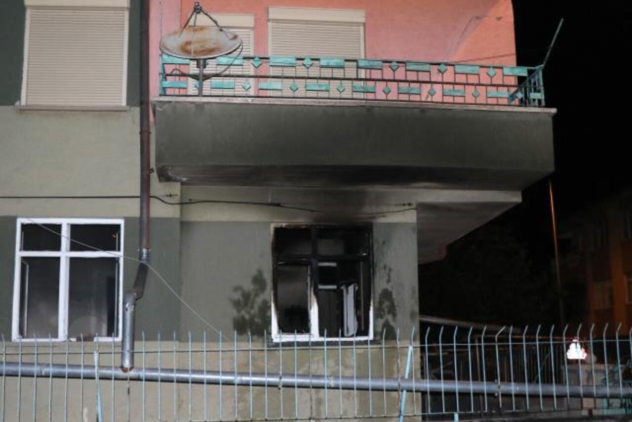 Kayseri'de yangın!