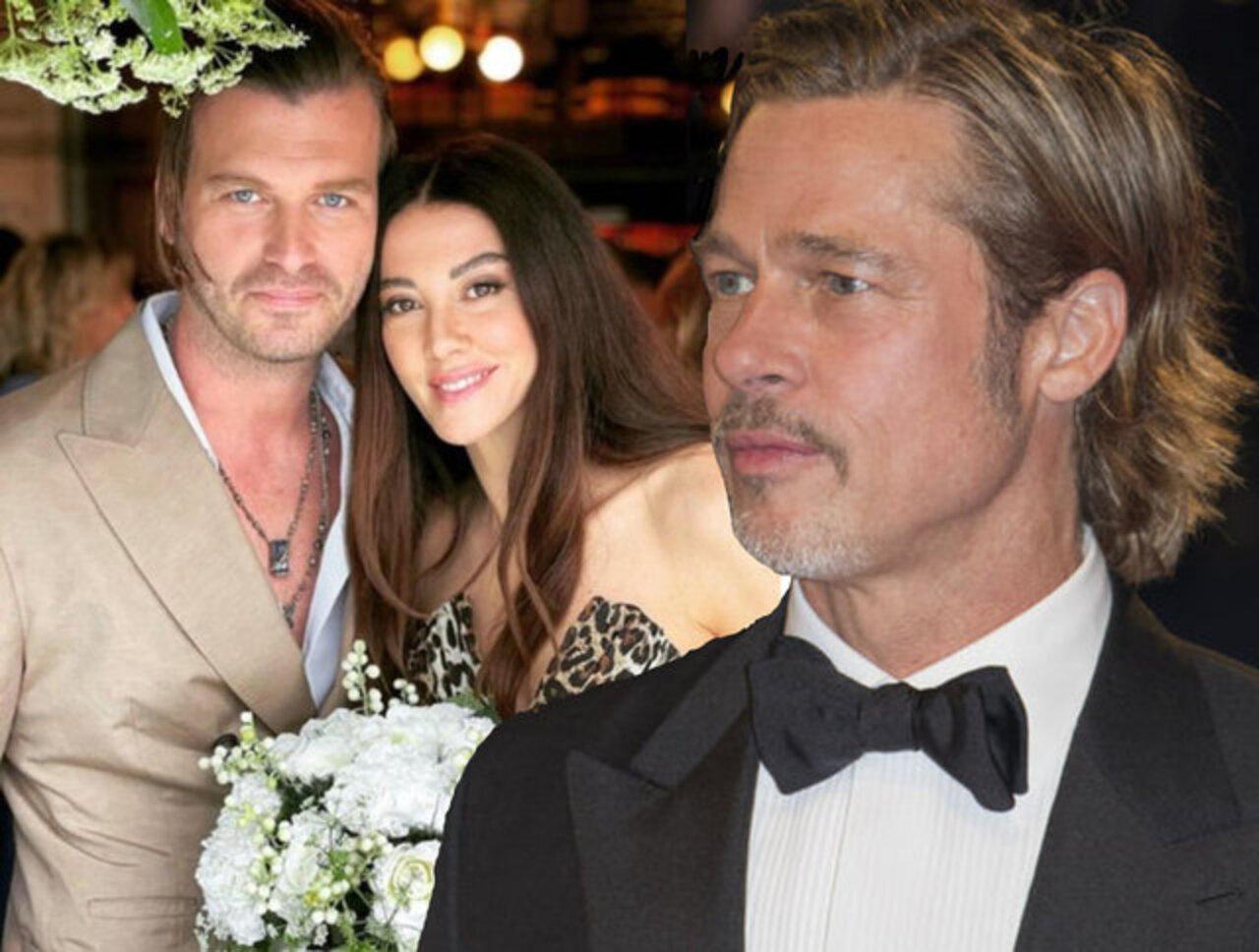 Kıvanç Tatlıtuğ'dan Brad Pitt imajı!