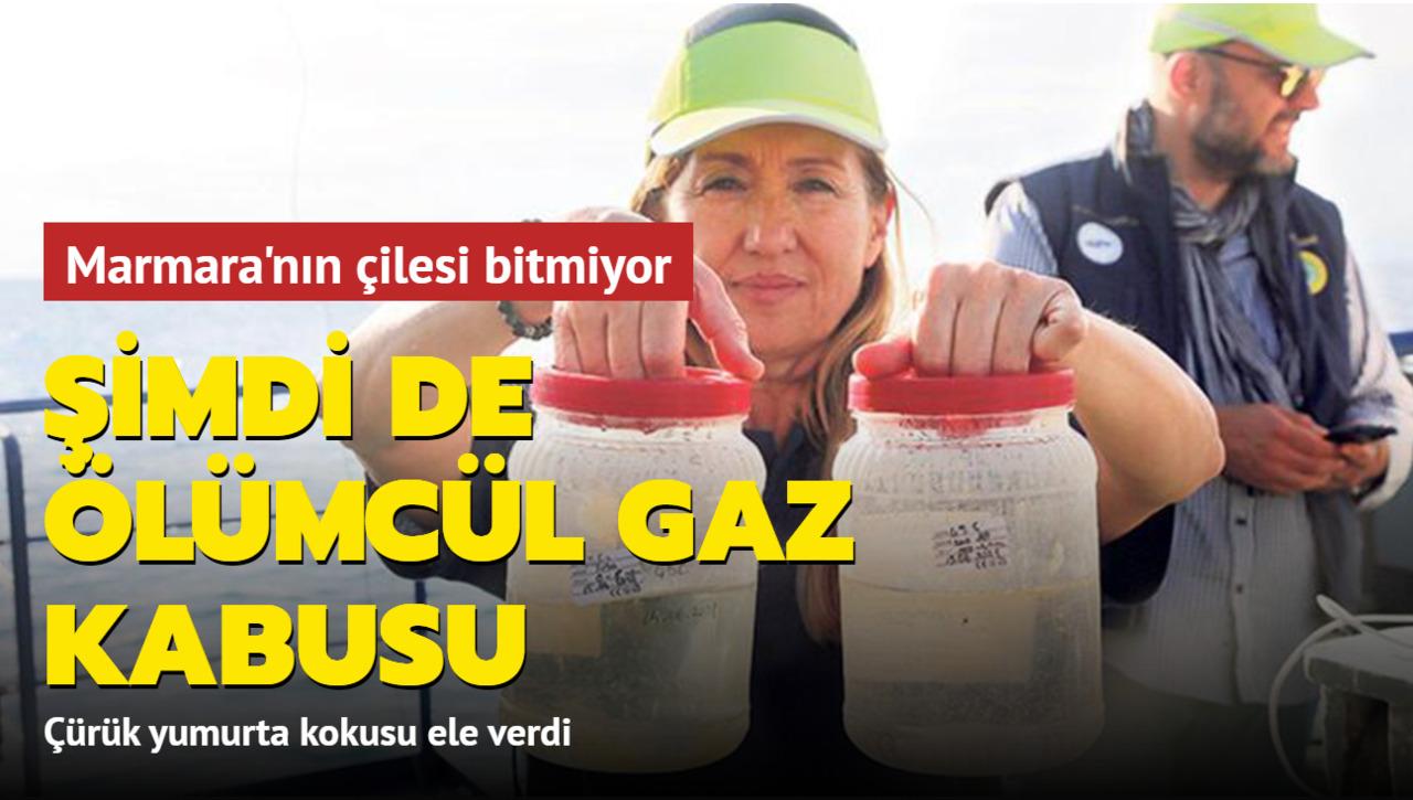 Müsilaj felaketi yaşayan Marmara Denizi'nde ölümcül gaz tehlikesi!