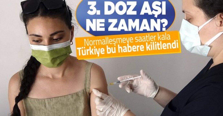 Normalleşme dönemine geçiş öncesi son Bilim Kurulu toplantısında gündem 3. doz ve yerli aşı!