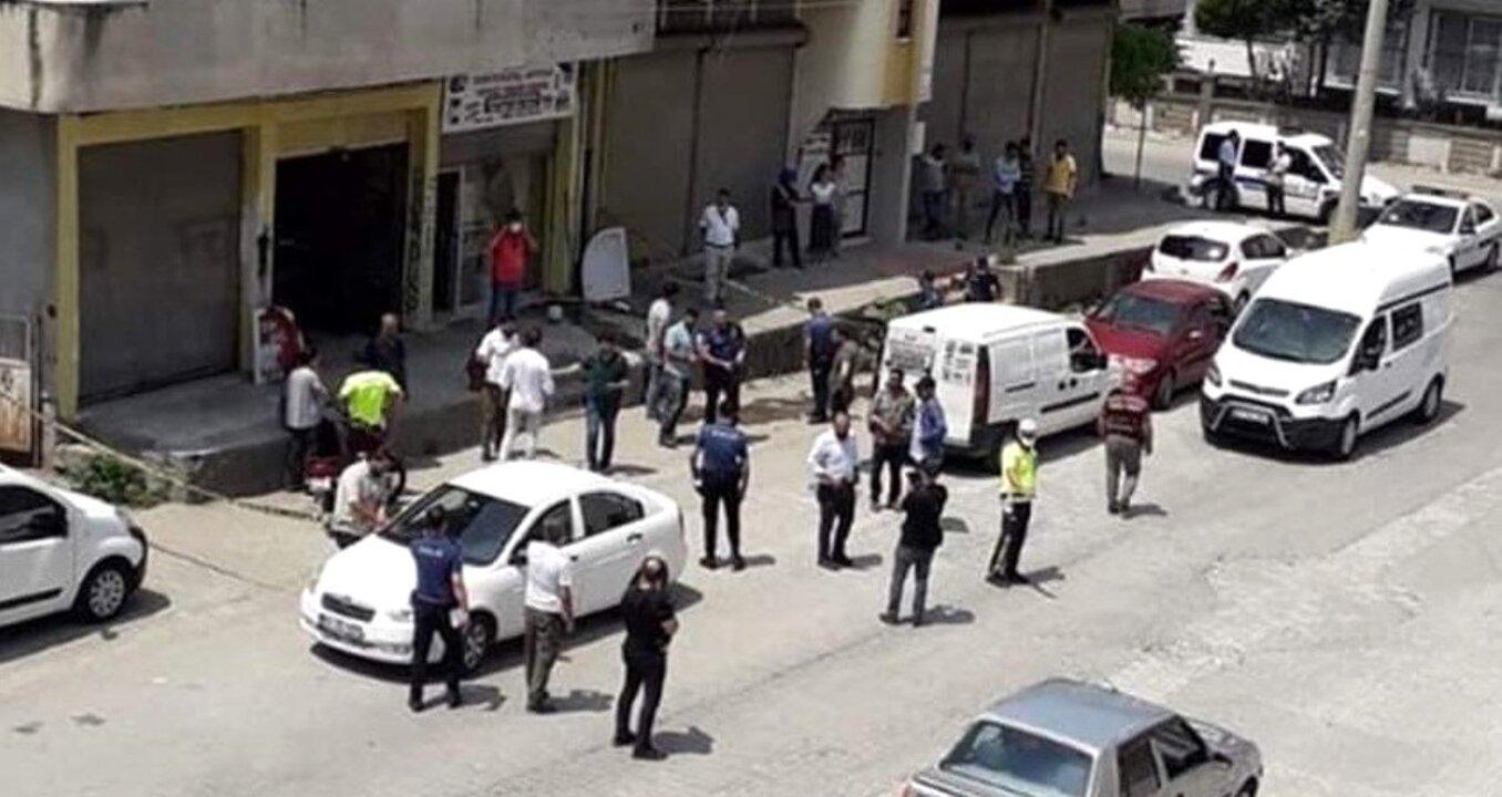 Osmaniye'de bir iş yerinde çıkan kavgada 2 kişi yaralandı