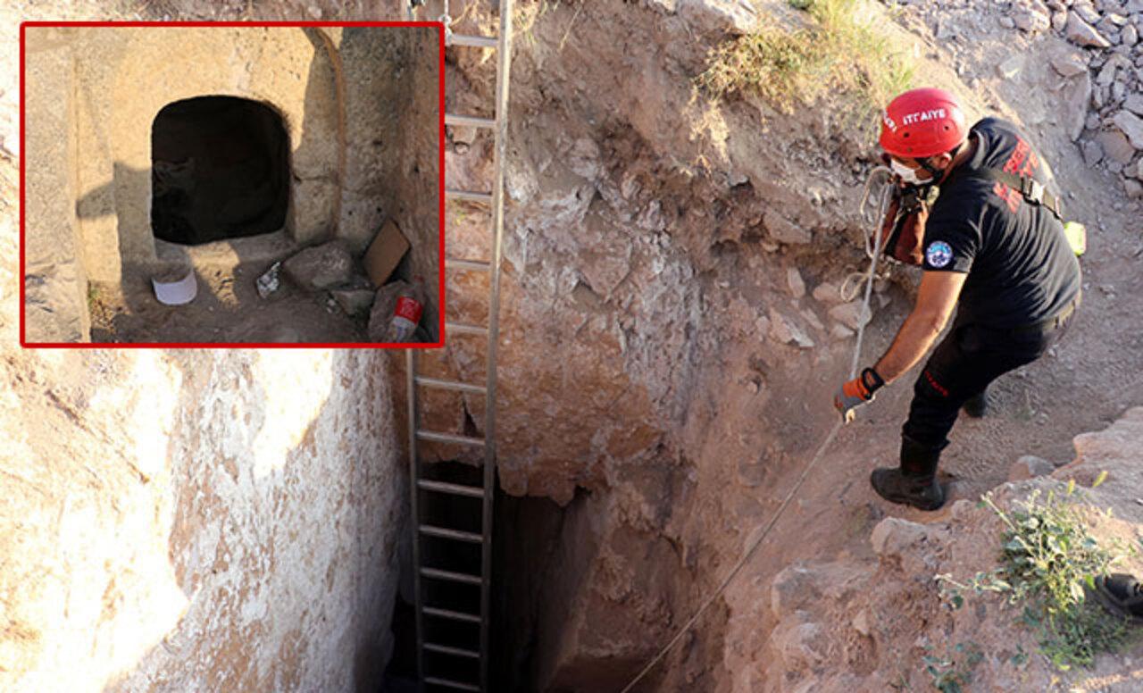 Polis ekipler Kayseri'de 2 tünel buldu!