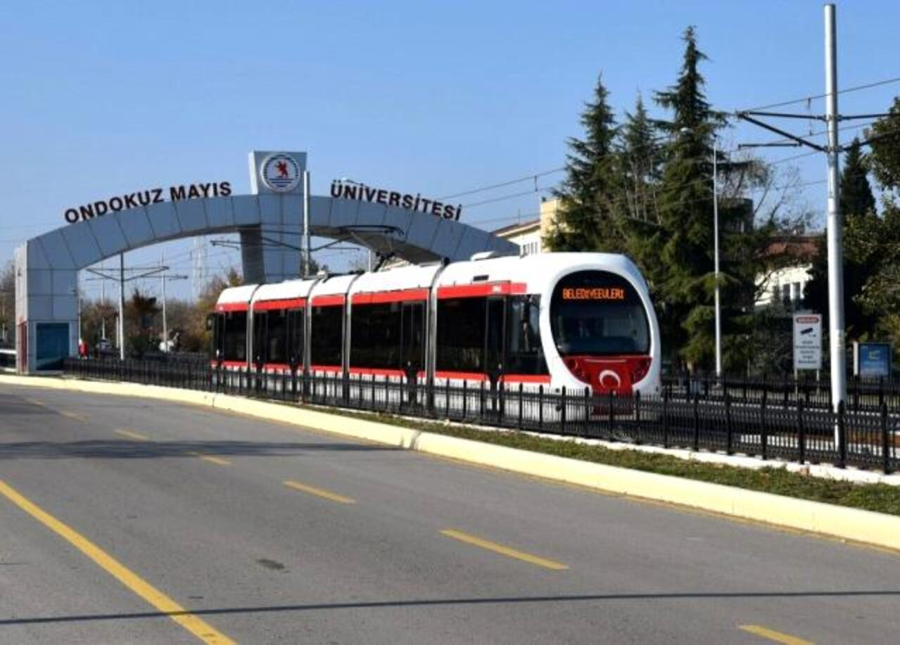 Samsun'da 11 bin sağlık çalışanına ücretsiz ulaşım imkanı
