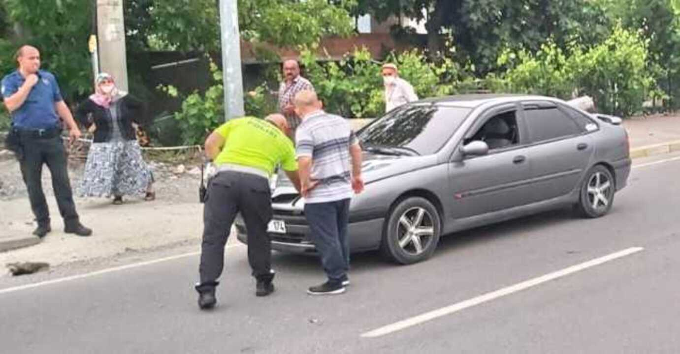 Samsun'da otomobilin çarptığı 12 yaşındaki çocuk ağır yaralandı