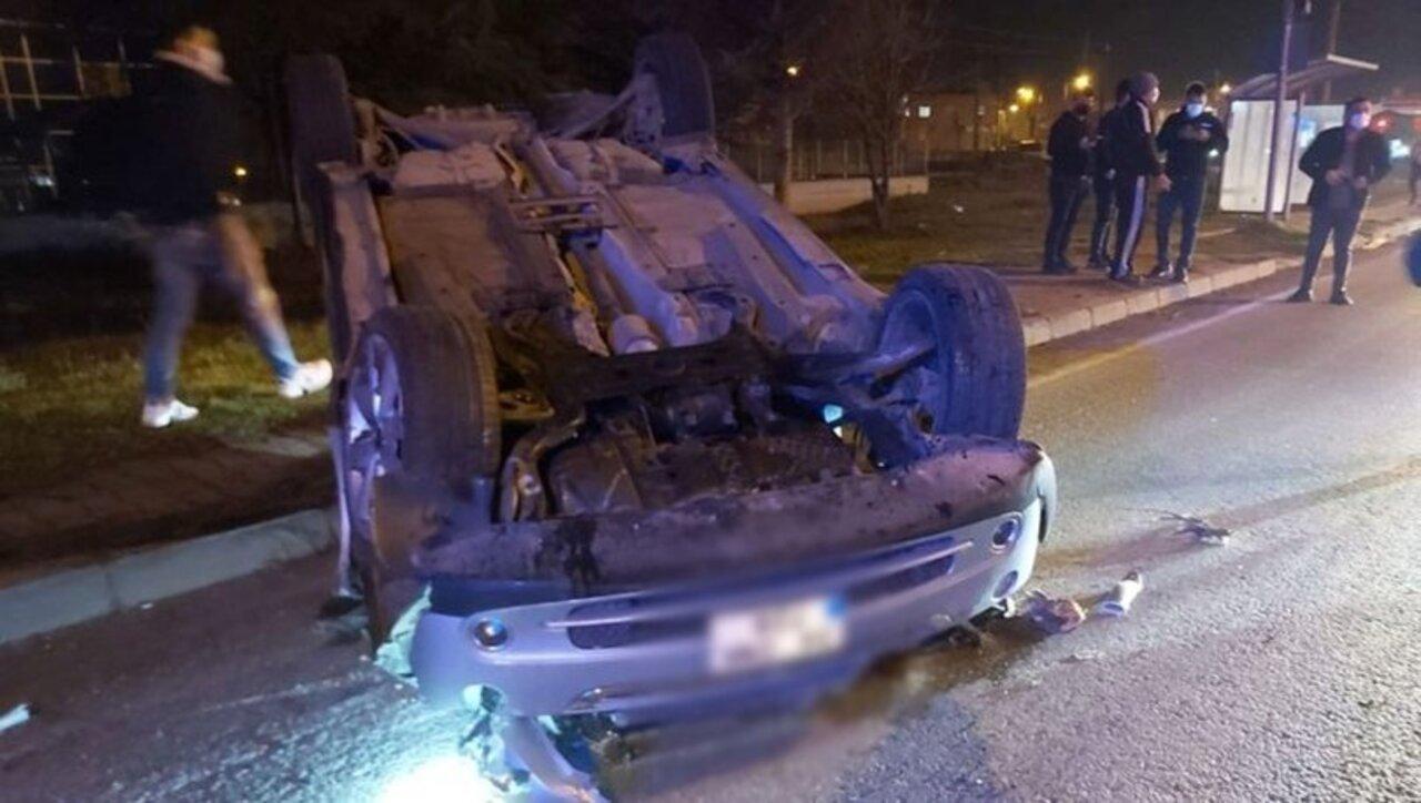Samsun'da trafik kazası sonucu 2 kişi yaralandı, 1 kişi hayatını kaybetti