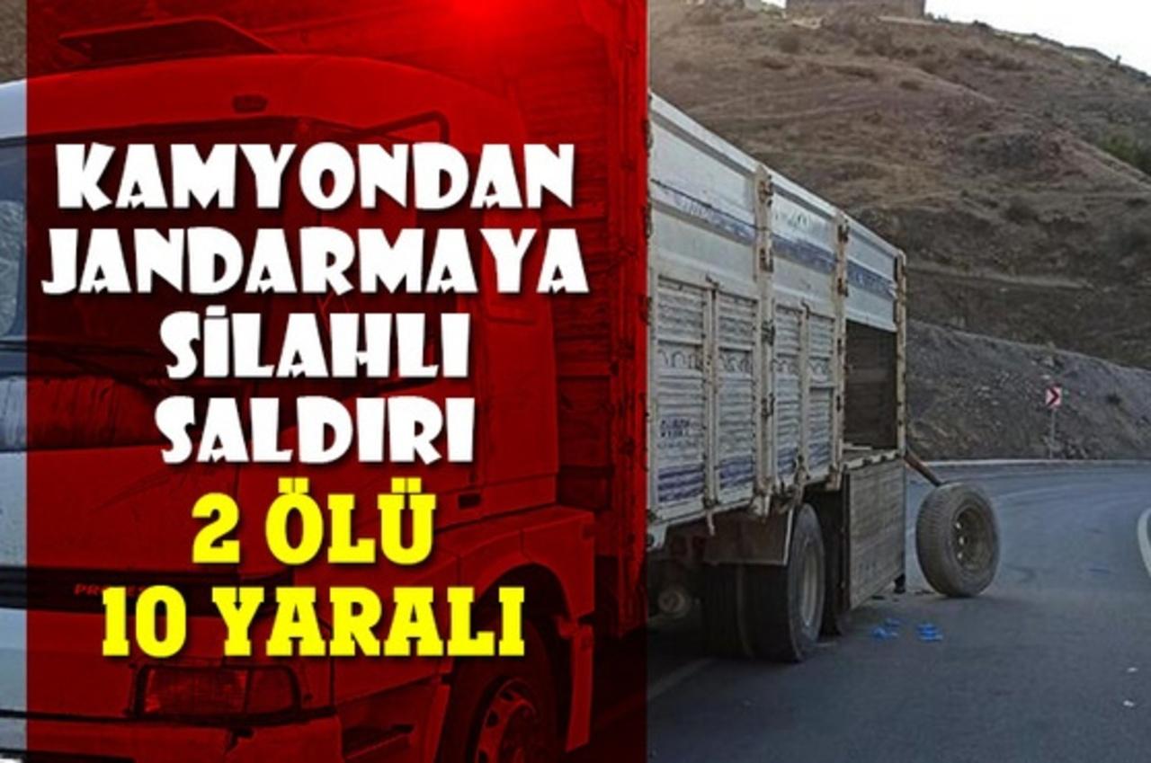 Siirt'te Jandarma ekipleri kaçak göçmen operasyonunda saldırıya uğradı!