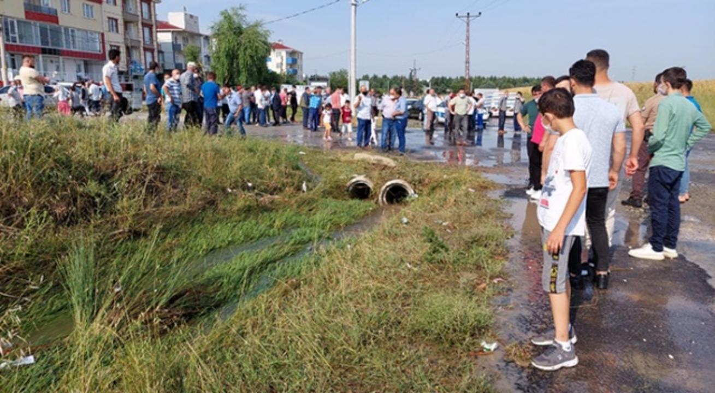 Tekirdağ'da sel sularına kapılan iki çocuk hayatını kaybetti