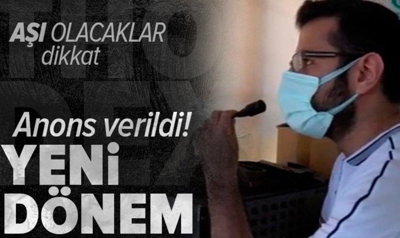 Türkiye'de aşılama çalışmaları sahaya yayıldı!
