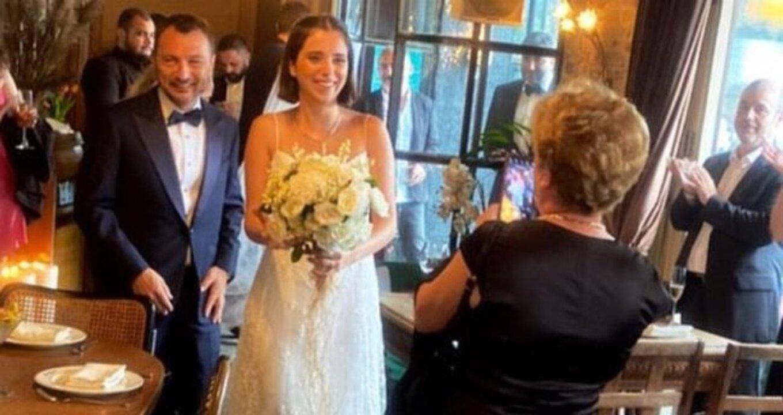 Uluç Bayraktar ve 25 yaş küçük sevgilisi evlendi