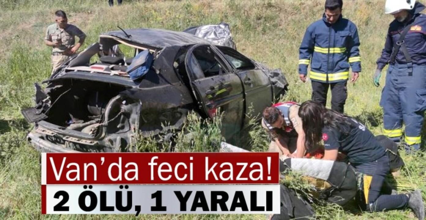 Van'da feci trafik kazası: 2 kişi hayatını kaybetti