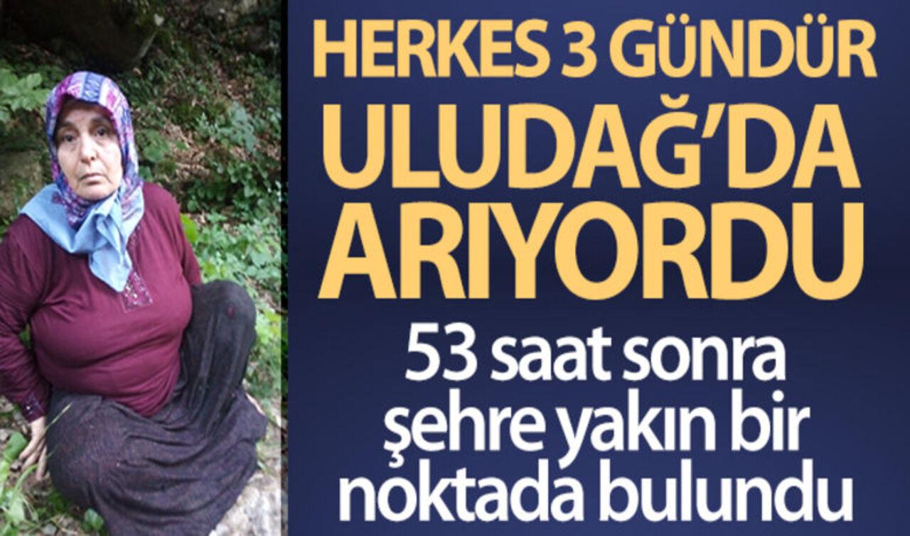 3 gündür Uludağ'da aranan Gülefer Boynukısa sağ salim bulundu