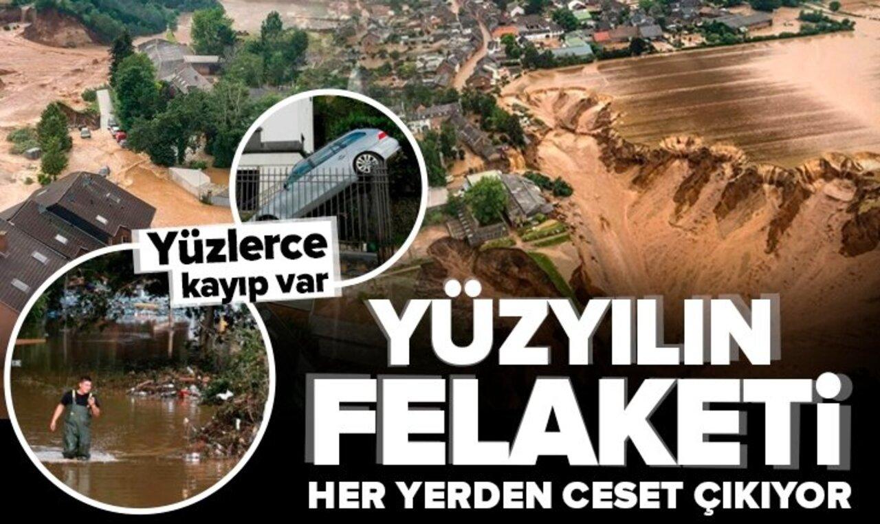Almanya'daki sel felaketinde bilanço giderek artıyor!