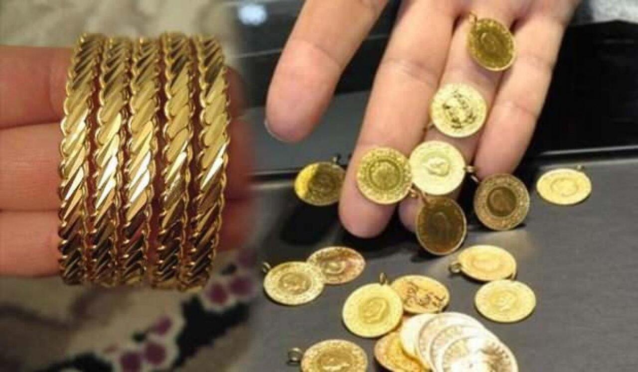 Altın fiyatları büyük düşüşünü sürdürüyor