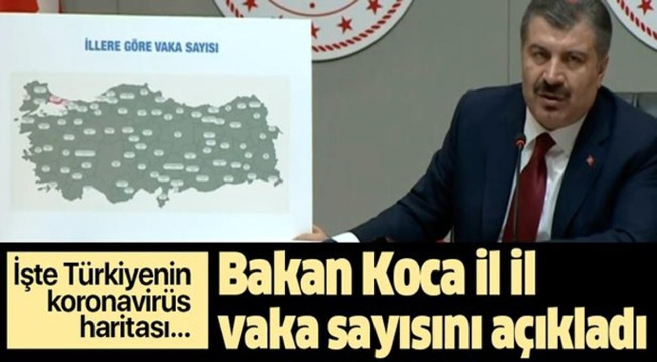 Bakan Koca, Türkiye'nin il il vaka sayılarını açıkladı!