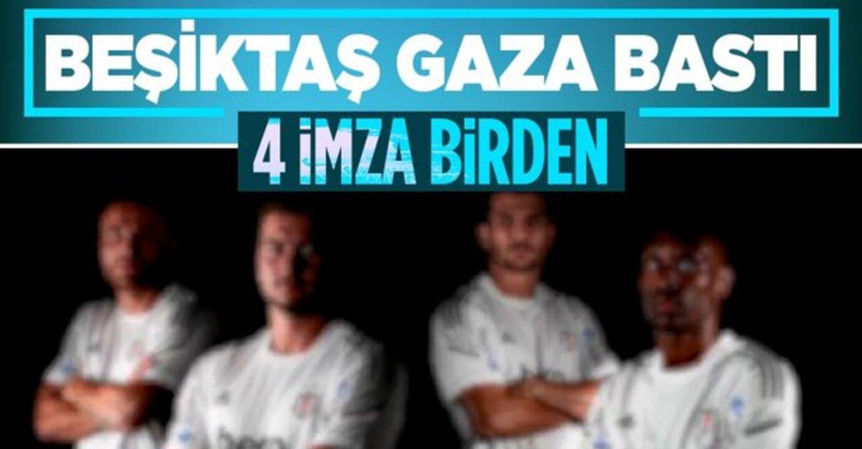 Beşiktaş, iç transferde 4 anlaşma birden yaptı!