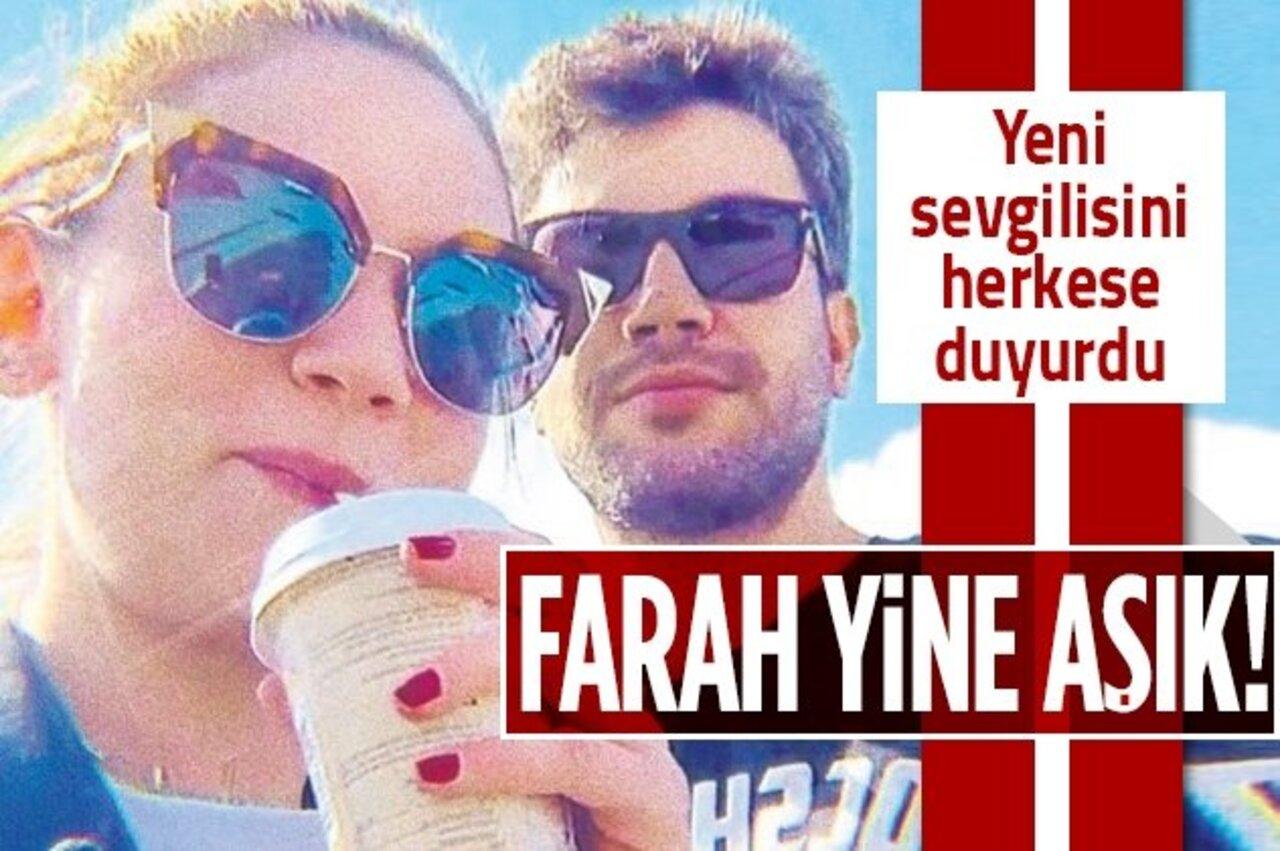 Farah Zeynep Abdullah'ın kalbi DJ Artz lakaplı Efe Çelik için atmaya başladı