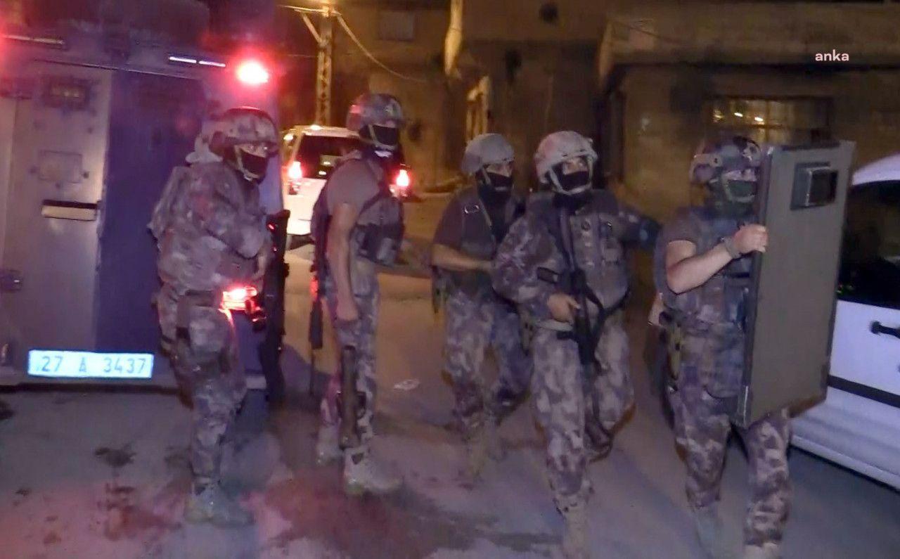 Gaziantep'te uyuşturucu satıcılarına Vatan Operasyonu! 213 tutuklama