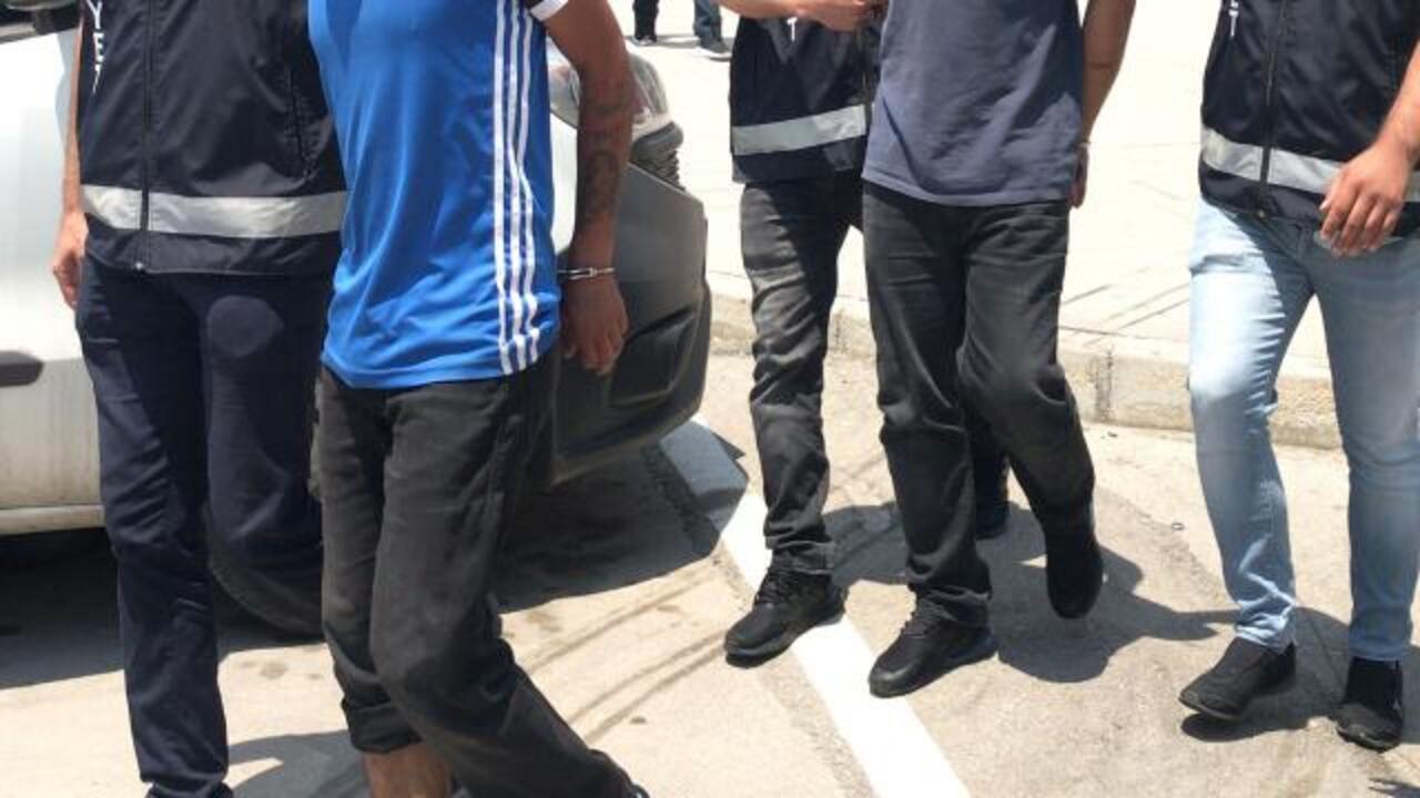Hatay'da hırsızlık operasyonunda 9 kişi tutuklandı