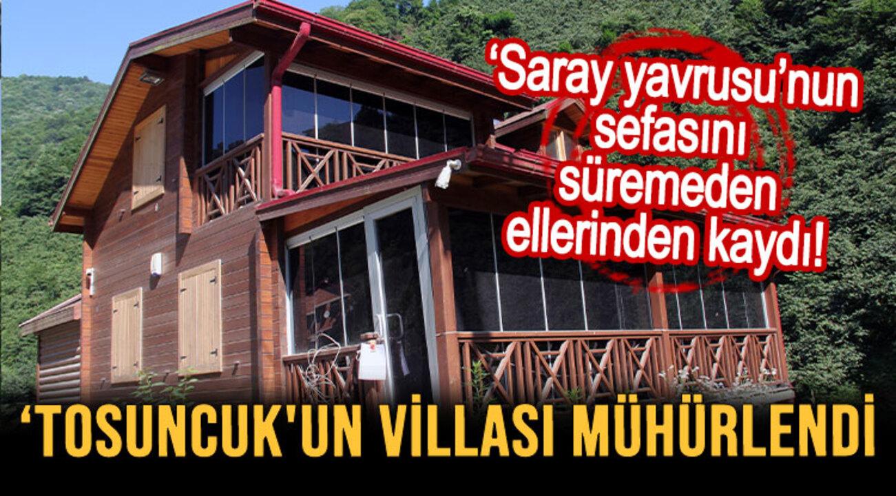 Mehmet Aydın'ın Giresun'da yaptırdığı kaçak villası mühürlendi