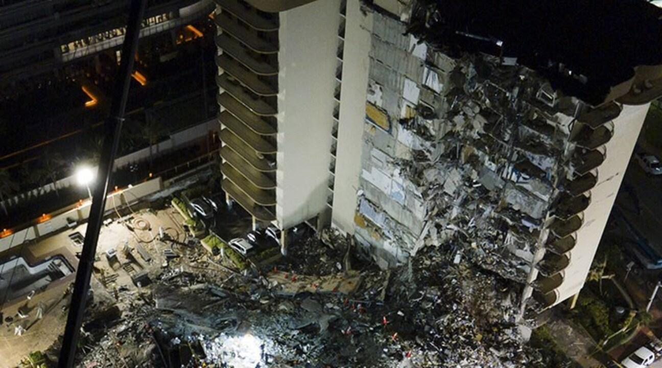 Miami'de çöken binada ölü sayısı 27'ye yükseldi