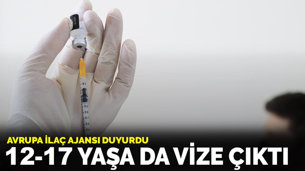 Moderna aşısı 12-17 yaş arası gençler için kullanımına izin çıktı!